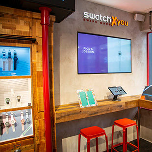 SWATCH AT COVENT GARDEN